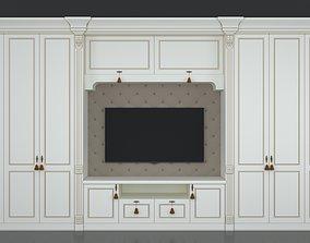 3D luxy Furniture cabinet