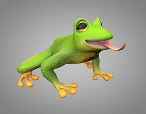 Frog or toad 3D model
