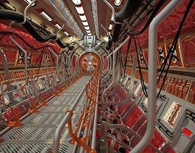 Sci Fi Tunnel 3D model