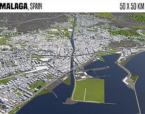 3D Malaga Spain