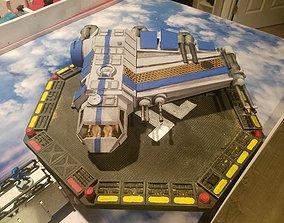 3D printable model Axewing Gunship MCB-LW1