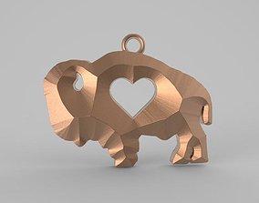 Bison love 3D printable model