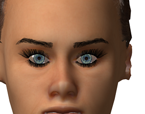 3D model Robot Male and Female version