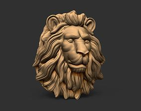 animals sculpture 3D Lion Head