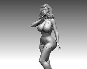 Glamour Woman body sculptures 3D print 3D model