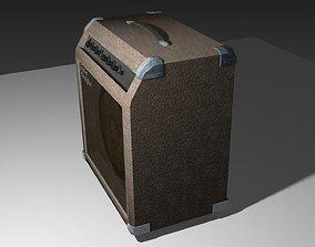 Guitar amplifier 3D model