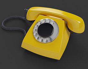 Retro Telephone TAH 70-5 3D model realtime
