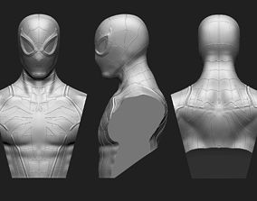 Spider-Man Advanced Suit Bust 3D printable model