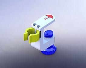 tools 3D printable model Universal Umbrella Holder