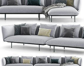 Tribu Senja Sofa 3D model