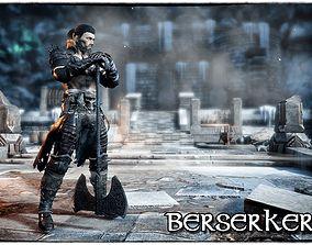 3D model Berserker S1 Unity 2018