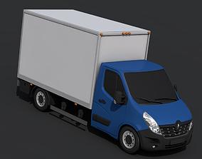 3D asset Renault Master Pickup 2018