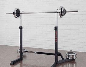 Gym equipment 16 am169 3D