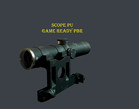 Low-poly Game ready Scope PU 91 30 3D asset
