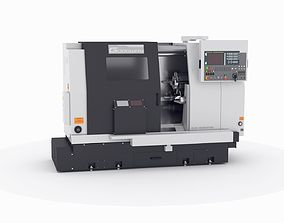 3D lathe turret machine GOODWAY GS-260MS Koordinate cnc