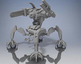 3D printable model Construction Mech