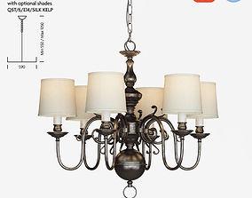Chelsom Flemish FL 230 6 EBR chandelier 3D model