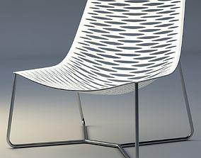 3D model York Lounge Chair