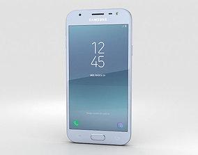 Samsung Galaxy J3 2017 Blue 3D