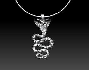 pendant cobra 3D printable model