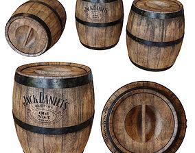 Old Barrel 3D daniels