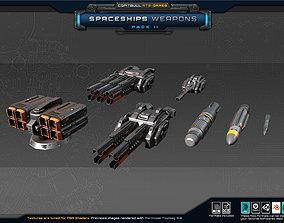 Spaceships Weapons Pack II 3D asset