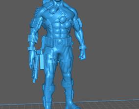 3D print model GI Joe Snake Eyes