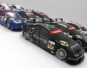 Mercedes Benz DTM 2002 Season Pack 3D
