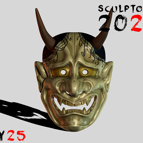 Sculptober Day 25 Oni