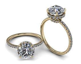 3D printable model Diamond Jewelry Ring 009