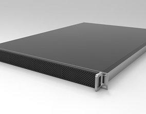 3D 1RU 4 Bay Server