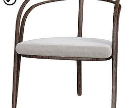 One Kings Lane Rhodes Side Chair 3D asset
