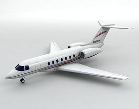 Raytheon Hawker 4000 Aircraft 3D model