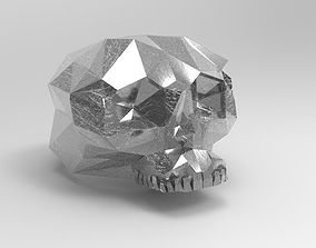 3D print model Skull Ring skeletal