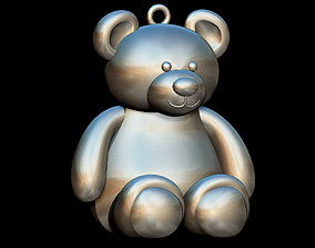 3D print model Little Bear statue