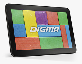 Digma Optima 3G tablet 3D model