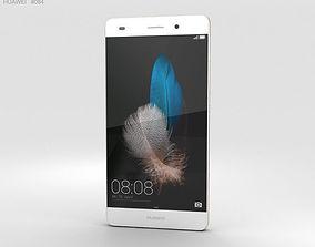 3D Huawei P8 Lite White