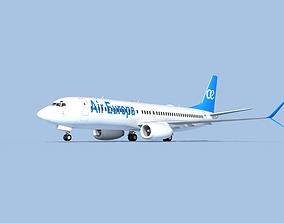 3D model Boeing 737-800 Max Air Europa