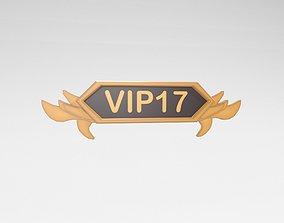 Game VIP Symbol v4 003 3D model