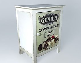 RETRO child39s bedside houses the world 3D