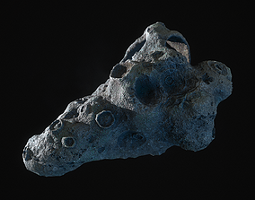 Realistic asteroid 1 3D model
