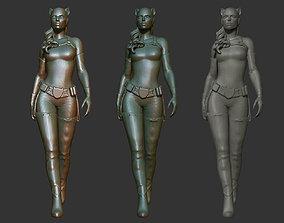 Cat woman 3D Printable