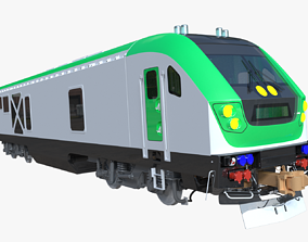 Locomotive Siemens SC-44 3D