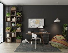 3D model Furniture set rug