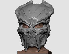 Ceremonial hunter mask 3D print model