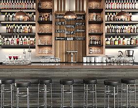 Bar 12 Alcohol 3D model