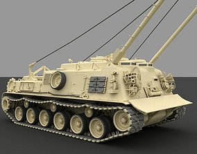 3D M88A1 Medium Recovery Vehicle