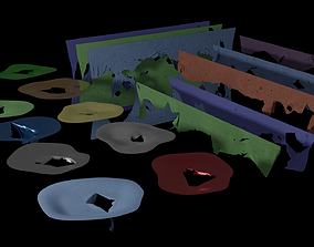 Tear Asset Pack 3D model