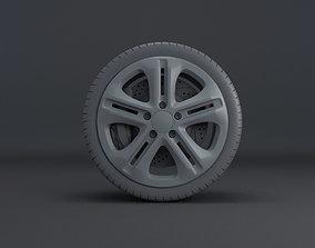 3D Wheels set 01
