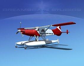 3D DeHavilland DHC-2 Turbo Beaver V18